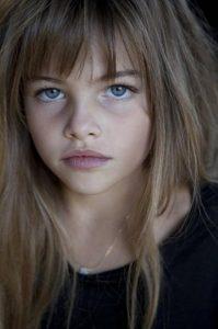 Kristina Pimenova 8 year old model
